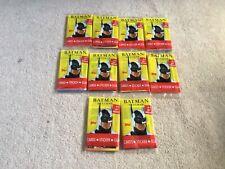 10 Packs Topps Batman Returns Bubblegum Trading Cards All Sealed My Last Lot