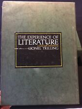 The Experience Of Literature- A Reader With Commentaries- Lionel Trilling
