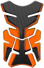 PAD PROTECTION RESERVOIR ORANGE CARBONE KAWSAKI ZX6 ZX7 ZX9 ER6 Z800 Z750 Z1000