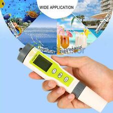 3 en 1 TDS EC Temperatura PH Medidor LCD Monitor Digital De Calidad Agua Probador Pureza Pluma