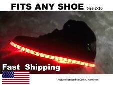 "LIGHT up ""YOUR"" shoes --- part fits DC Shoe size 5 6 7 8 9 10 11 12 13 14 Skate"