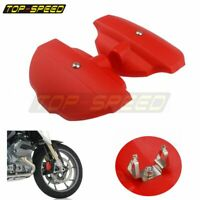 RED Motorcycle ABS Front Brake Caliper Cover Guard For BMW R1200GS ADV /LC 13-17