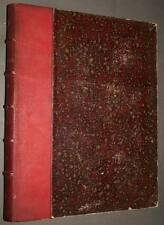 Revue LE THEATRE Septieme année deuxieme semestre 1904, reliure demi cuir GOUPIL