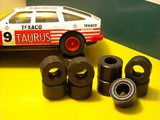 8 urethane tyres ROVER SCALEXTRIC - IRL