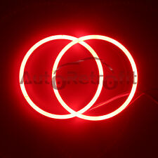 100mm Red LED Halo Ring Kit, COB Angel Eye Rings for Headlights Projectors,etc