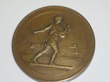 J Lagrange médaille bronze attribuée comptoir français azote champ d'expérience