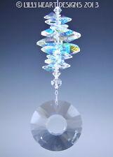 m/w Swarovski 40mm Sun Disk Aurora Borealis Stack SunCatcher Lilli Heart Designs