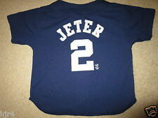 Derek Jeter #2 New York Yankees MLB Jersey Boys Small 6