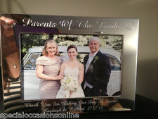 "Personalised Engraved 4 X 6"" Portrait Photo Frame Godmother Godparents Gift on Your First Holy Communion"