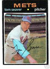 1971 TOPPS CARD #160-TOM SEAVER-NEW YORK METS