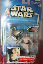 OBI-WAN KENOBI (Coruscant Chase) 3 , Star Wars SAGA, 2002 box avec decor