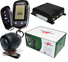 Audiovox Prestige APS997E 2-Way Car Remote Start and Alarm/ Security NEW APS997C