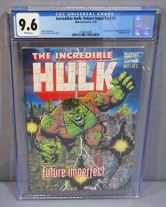 INCREDIBLE HULK: FUTURE IMPERFECT #1 (Maestro 1st app) CGC 9.6 NM+ Marvel 1993