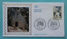 Zb 107 * Enveloppe 1er jour 2002 n°3496 Chapelle de Saint-Ser