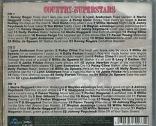 COUNTRY SUPERSTARS - VARIOUS ARTISTS on 3 CD'S -  NEW -