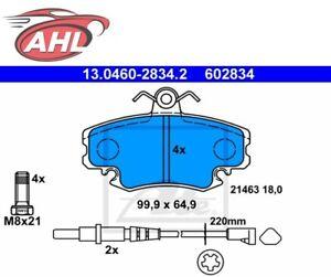 ATE 13.0460-2834.2 Plaquettes de frein avant RENAULT DACIA