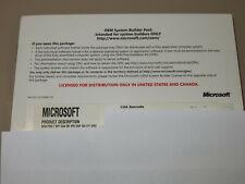 Microsoft Windows 7 Professional SP1 64 bit OEM System Builder Pack sealed