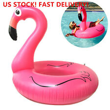 Giant Inflatable Flamingo Rubber Ring Pool Float Lilo Toys. US STOCK ON SALE NOW
