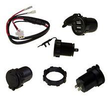 KFZ / LKW Auto Doppel USB Buchse Einbausteckdose Akku Ladung Kabel Stecker #4386