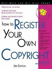 How to Register Your Own Copyright: With Forms (How to Register Your O-ExLibrary