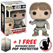 FUNKO POP STAR WARS LUKE SKYWALKER BESPIN ENCOUNTER FIGURE + FREE POP PROTECTOR