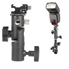 Hot Shoe Mount E Type Flash Bracket / Umbrella Holder Stand for Nikon Canon Sony