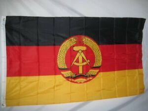 East Germany 3x5 Polyester Flag Riveted New In Package