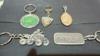FROM ISRAEL VINTAGE key chain volvo for life Collectible old metal silver color