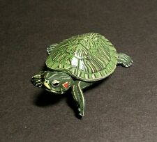 Yujin (Like Kaiyodo Takara) Red Ear Slider Turtle Replica PVC Figure Model