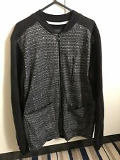 River Island Small Patterned Bomber Jacket Black