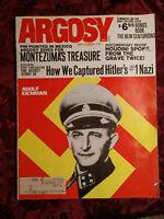 ARGOSY September 1971 Sept 71 ADOLF EICHMANN JOSEPH WAMBAUGH WAMBAUGH HOUDINI ++