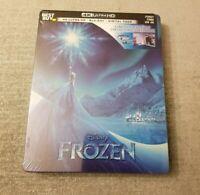 NEW Frozen 4K Ultra HD + Blu-ray/Digital Copy Steelbook Bestbuy Exclusive!