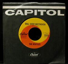 THE BEATLES-Roll Over Beethoven-Near Mint Radio Station 45-CAPITOL #72133-Canada