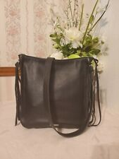 Rebecca Minkoff Regan Leather Feed Bag Crossbody Black $325