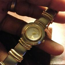 Authentic Etienne Aigner Womens Watch ~ SIlver & Gold Tone