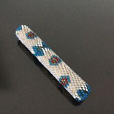 Etui Porte Aiguilles en Perles De Verre XIXè Victorian Needle Beaded Box 19thC