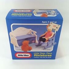 Vintage Little Tikes Place Miniatures Dollhouse Furniture - New in Box