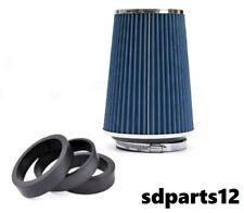 150 mm Filtre A Air Froid Sportif Lavable Cone A Maille Pour Audi A4 A6 A8 Q5 Q7