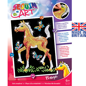 Sequin Art 0905 Freya Foal - DIY horse craft project from the Red range