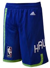 Atlanta Hawks Blue Hardwood Classics HWC Swingman Shorts L