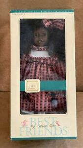 Heidi Ott Best Friends ELLIE Doll New in Box African American Black vinyl 861805