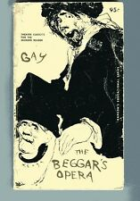 JOHN GAY The Begger's Opera vintage PB 1962 music lyrics Essays Keogh Illustra