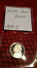 1978-S 5C JEFFERSON DEEP CAMEO UNCIRCULATED  PROOF NICKEL WOW! PRETTY COIN!