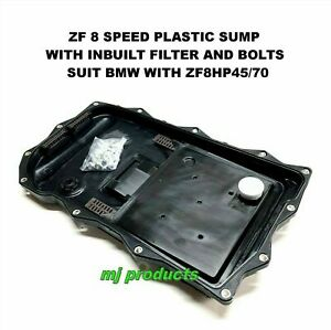 8-speed Auto Trans Oil Pan+Bolts Kit for BMW 8HP45Z 8HP75Z 8HP50Z 8HP70Z