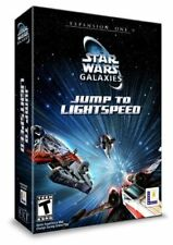 BRAND NEW SEALED Star Wars Galaxies Jump Lightspeed PC Computer Game Expansion 1