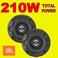 Jbl 210w total 2way 5.25 Pulgadas 13cm coche door/shelf Altavoces Coaxiales Con Rejas