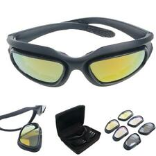 Windproof Polarized Motorcycle Lens Sun Glasses Riding Cycling Biker Sport Wrap