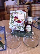 BAKED APPLES  ~ SERVING DISH SET ~ WITH APRON