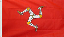 3x5 Isle of Man Flag British Isles Banner Mann Island Pennant