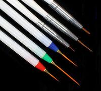 6PCS/Set French Painting Nail Art Drawing Liner Striping Pen Brush Manicure Tool